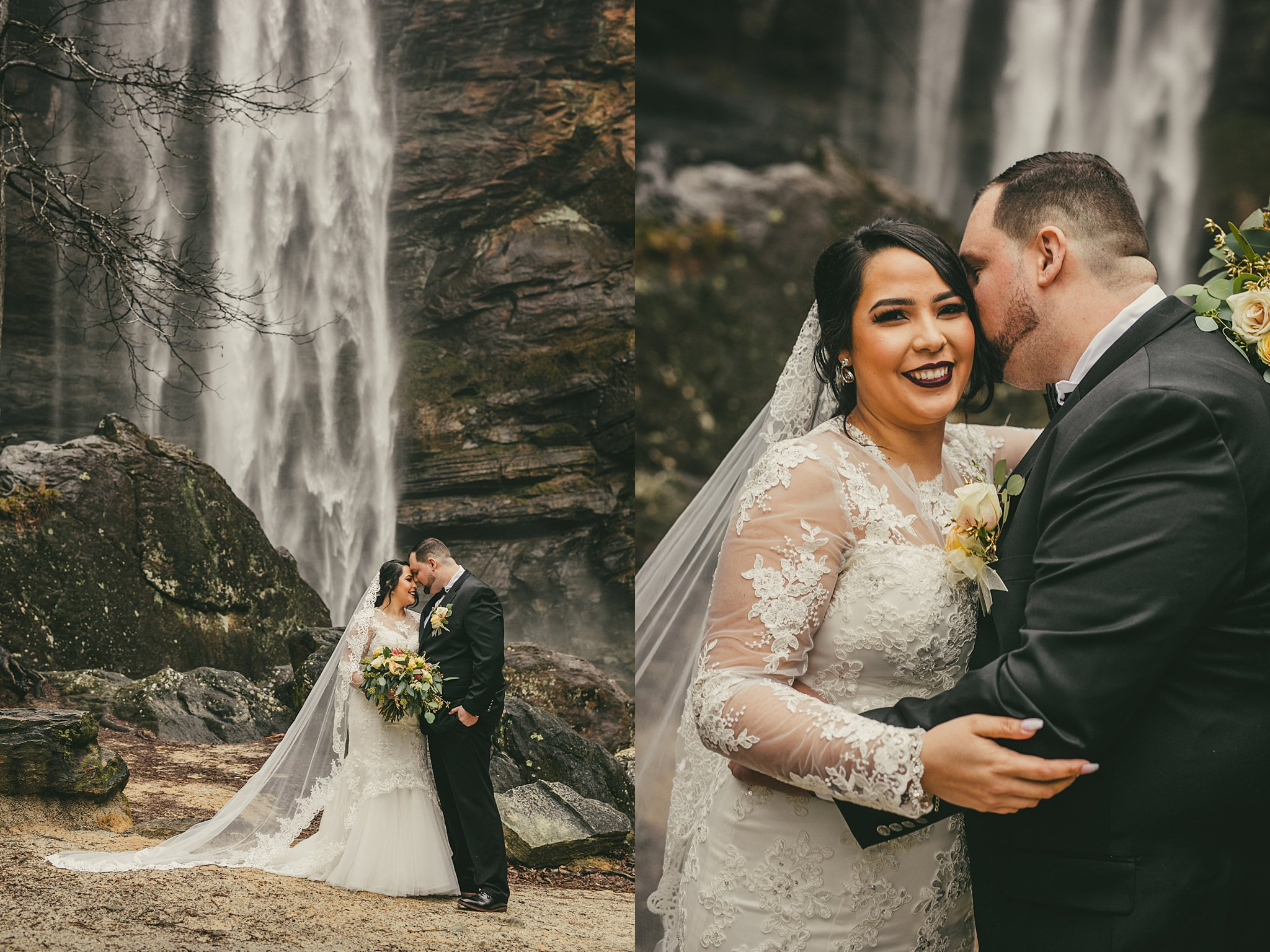 AtlantaWeddingPhotographers Toccoa Falls Destination Waterfall Wedding