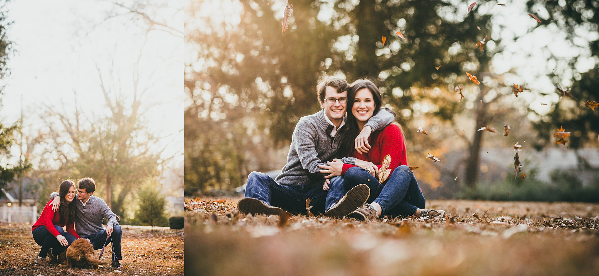 Engagement Session in Atlanta | Barrington Hall | Love & Story Wedding Photographers